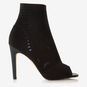 Express Stretchy Open Toe Booties